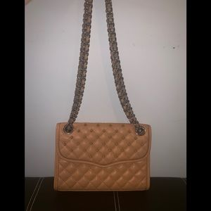 Brown Rebecca Minkoff studded Shoulder Bag